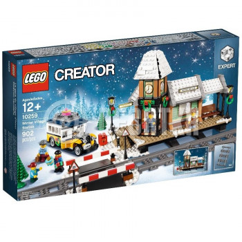 Классический конструктор LEGO Creator Сельская железнодорожная станция зимой (10259)