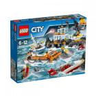 Классический конструктор LEGO City Штаб береговой охраны