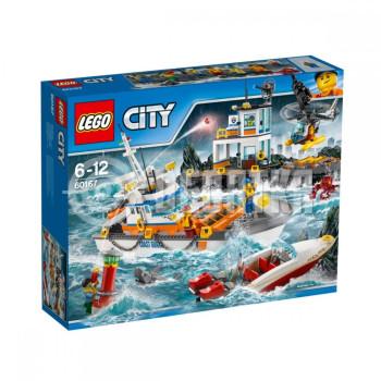 Классический конструктор LEGO City Штаб береговой охраны (60167)