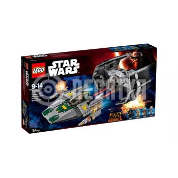 Классический конструктор LEGO Star Wars Истребитель TIE Дарта Вейдера и истребитель A-Wing (75150)
