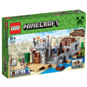 Классический конструктор LEGO Minecraft Блокпост в пустыне (21121)