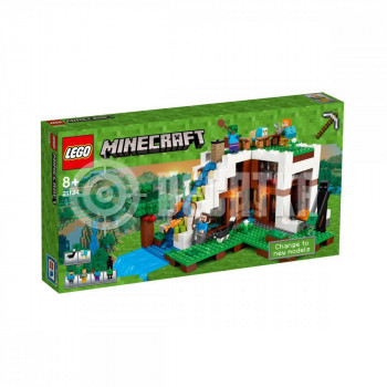 Классический конструктор LEGO Minecraft База на водопаде (21134)