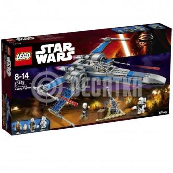 Классический конструктор LEGO Star Wars Истребитель X-Wing Сопротивления (75149)