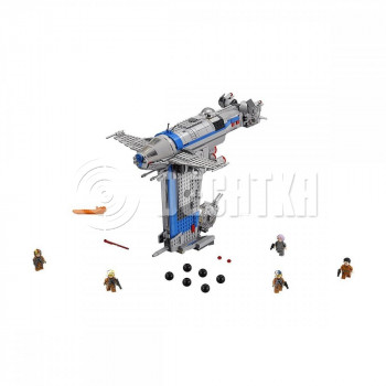 Классический конструктор LEGO Star Wars Бомбардировщик Сопротивления (75188)