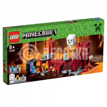 Классический конструктор LEGO Minecraft Крепость Нижнего мира (21122)