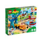 Классический конструктор LEGO DUPLO Town Грузовой поезд