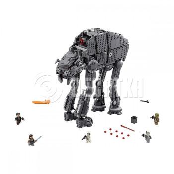 Классический конструктор LEGO Star Wars Тяжелый штурмовой шагоход Первого Ордена (75189)