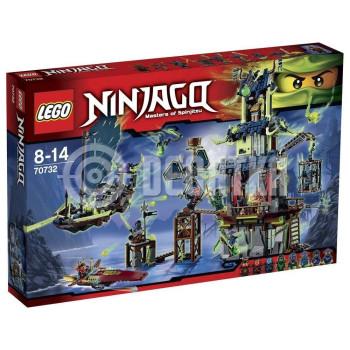 Классический конструктор LEGO Ninjago City of Stiix (70732)