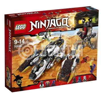 Классический конструктор LEGO Ninjago Внедорожник с суперсистемой маскировки (70595)