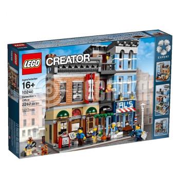 Классический конструктор LEGO Кабінет детектива (10246)