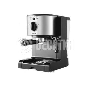 Рожковая кофеварка эспрессо Zelmer ZCM2053B