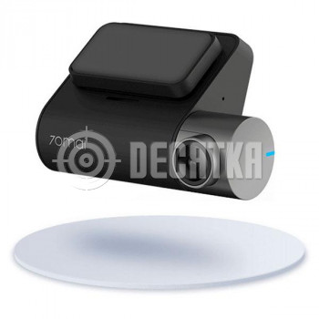 Автомобільний відеореєстратор Xiaomi 70mai Smart Dash Cam Pro Black