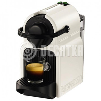 Капсульная кофеварка эспрессо Krups Nespresso Inissia XN 1001 white