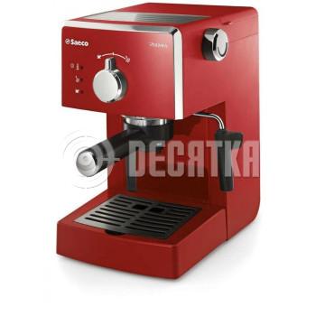Рожковая кофеварка эспрессо Saeco Poemia Focus Espresso RED (HD8423/29)