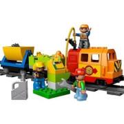 Пластмассовый конструктор LEGO Duplo Большой поезд Делюкс