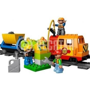 Пластмассовый конструктор LEGO Duplo Большой поезд Делюкс (10508)