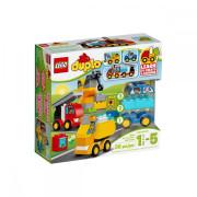 Пластмассовый конструктор LEGO DUPLO My First Мои первые машины и грузовики