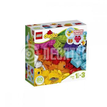 Пластиковый конструктор LEGO Duplo Мои первые кубики (10848)