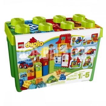 Пластиковый конструктор LEGO Duplo Игровая коробка Делюкс (10580)