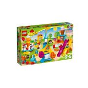 Пластиковий конструктор LEGO DUPLO Большой парк аттракционов