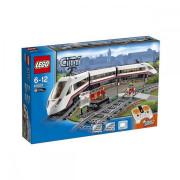 Пластмассовый конструктор LEGO City Скоростной пассажирский поезд 60051 | Акция