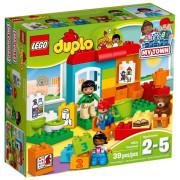 Пластиковый конструктор LEGO Duplo Детский сад