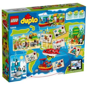 Пластиковый конструктор LEGO Duplo Вокруг света (10805)
