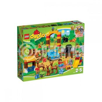 Пластиковый конструктор LEGO Duplo Лес: парк (10584)