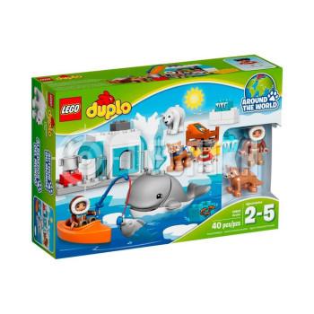 Пластмассовый конструктор LEGO DUPLO Арктика (10803)