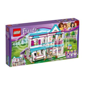 Пластиковый конструктор LEGO Friends Дом Стефани (41314)