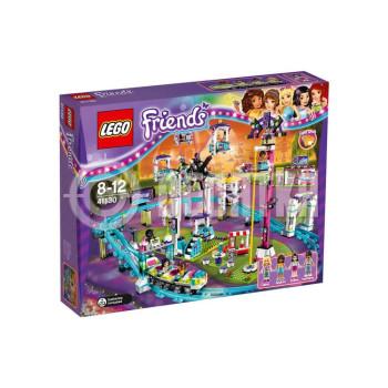 Пластмассовый конструктор LEGO Friends Парк развлечений: американские горки (41130)
