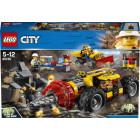 Классический конструктор LEGO City Тяжелый бур для горных работ