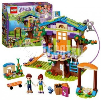 Пластиковый конструктор LEGO Friends Домик на дереве Мии (41335)