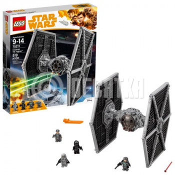 Классический конструктор LEGO Star Wars Imperial TIE Fighter (75211)