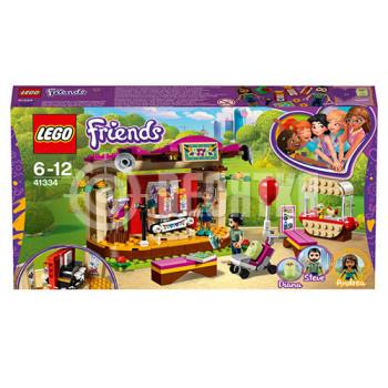 Классический конструктор LEGO Friends Выступление в парке Андреа (41334)