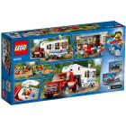 Пластиковый конструктор LEGO City Пикап и фургон