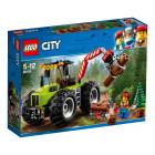 Пластиковый конструктор LEGO City Лесоповальний трактор