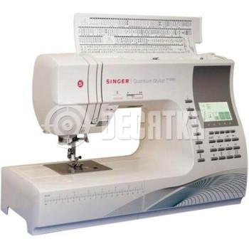 Швейная машинка компьютеризированная Singer Quantum Stylist 9960