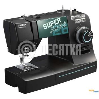 Швейная машинка электромеханическая TOYOTA Super Jeans 26XL (T-SJ26XL)
