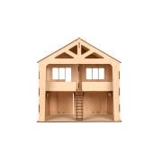 "Дерев'яний ігровий будинок-гараж ""CAR HOUSE"""