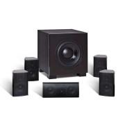Комплект акустики для домашнього кінотеатру Quadral Aluma 2200 Black
