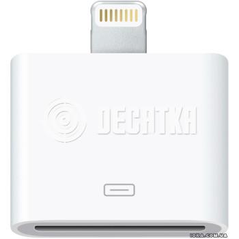 Переходник Apple Переходник Lightning to 30-pin Adapter (MD823)