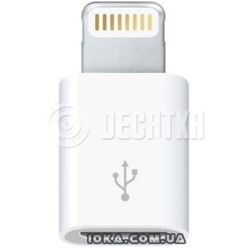 Адаптер Apple Адаптер Lightning to Micro USB (MD820)