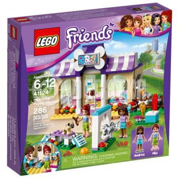 Пластмассовый конструктор LEGO Friends Детский сад для щенков (41124)