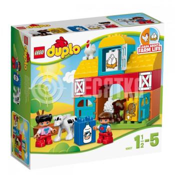 Пластиковый конструктор LEGO Duplo Моя первая ферма (10617)