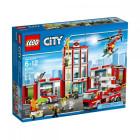 Пластиковый конструктор LEGO City Fire Пожарная станция
