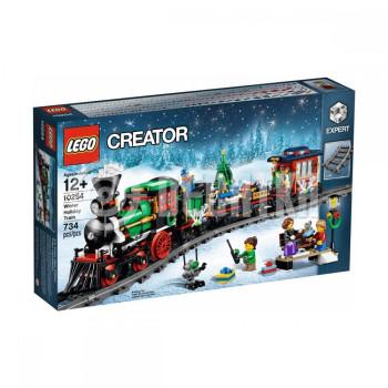 Пластиковый конструктор LEGO Creator Expert Новогодний экспресс (10254)
