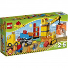 Пластмассовый конструктор LEGO DUPLO Большая стройплощадка