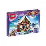 Пластиковый конструктор LEGO Friends Горнолыжный курорт: шале 402 детали