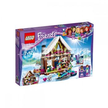 Пластиковый конструктор LEGO Friends Горнолыжный курорт: шале 402 детали (41323)